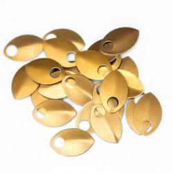 Šupiny střední žluté