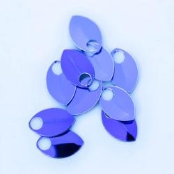 Šupiny mikro fialové