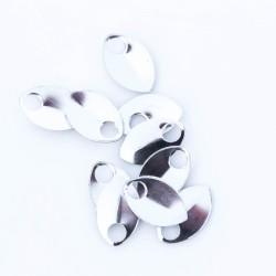 Šupiny mikro stříbrné lesklé