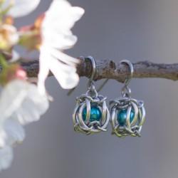 Mini lucerny - tyrkysové...
