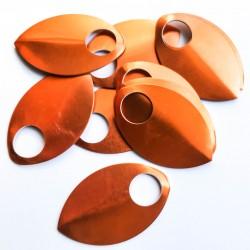 Šupiny XL oranžové